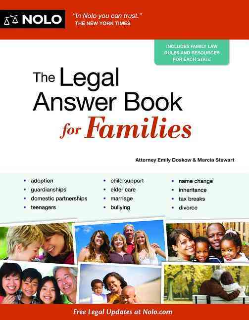 The Legal Answer Book for Families By Doskow, Emily/ Stewart, Marcia